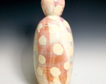 Bud Vase; Fine Art Ceramics; Florida Keys; Contemporary Design
