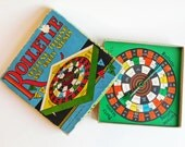 Rollette Vintage Fortune Telling and Party Stunts Game - Whitman Publishing 1930s - (c) 1932 Hazel Fauber - Colorful Spinner Game Amusement