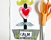 Teen Sewing Kits Love Boat Sew a Pillow Sew a Wall Hanging 6x9 Beginner Sewing Kit Gift Idea for Valentines Day