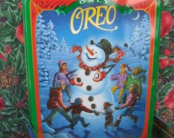 OREO CHRISTMAS TIN 1996