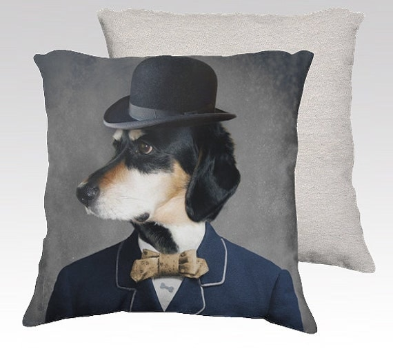 Decorative Pillow With Dog : Dog Pillow Dog Pillowcase Decorative Dog Pillow Case Pillow