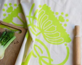 Kitchen Garden Collection Fennel Tea Towel