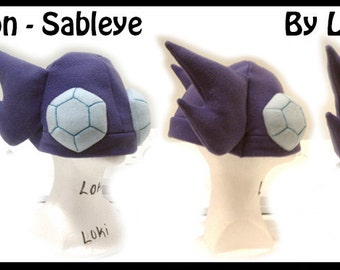 Pokemon Hat - Sableye Or Mega Sableye