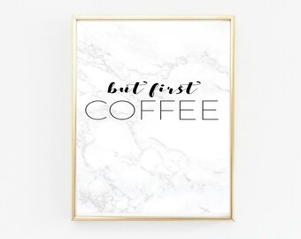 office wall decor, black and white decor, gallery wall prints, kitchen wall art, kitchen wall decor, kitchen wall signs, coffee lovers gift