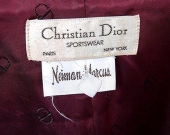 35% OFF SUMMER SALE The Vintage Christian Dior Tuxedo Jacket