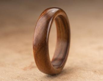 Size 10.25 - Guayacan Wood Ring No. 344