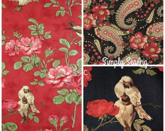 Wintergreen fabric by 3 Sisters for Moda