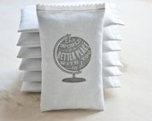 Unique Teacher Gift, Teacher Christmas Gift, The World is a Better Place With You in it Lavender Sachet, Best Friend Long Distance