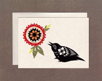 Birdsong - Notecard