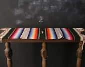 Woven Hombre Wall Hanging Bohemian Decor Runner With Fringe Wool Vintage From Nowvingate on Etsy