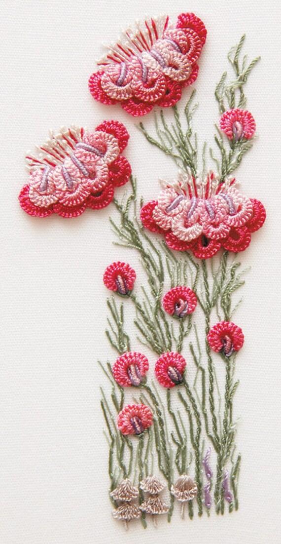 Camelias Brazilian Embroidery Kit 1702 EdMar Threads/choose