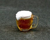 Beer in Glass Mug (1:12th scale)