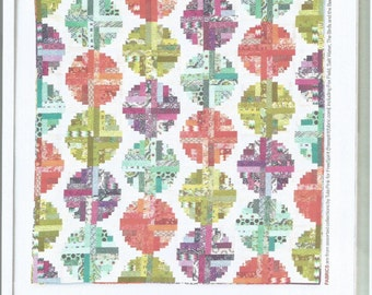 Log Cabin Beads Quilt Kit with Tula Pink fabrics