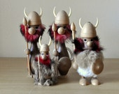 danish viking figurines