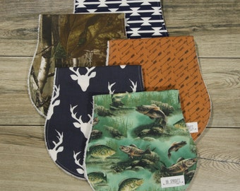 Burp Cloths-Burp Cloths Boy-Woodland Burp Cloths-Camo Burp Cloths-Burp Clothes-Hunting Burp Cloths-Burp Rags-Burp Cloths Etsy