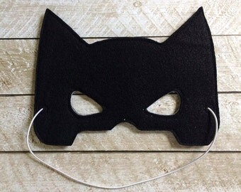 Children's Batman Felt Mask