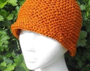 HALF PRICE SALE Instant Digital File pdf download knitting pattern Madmonkeyknits Superfast Cloche Beanie Hat pdf download knitting patern
