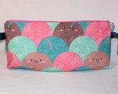 Cheerful Yarn Anna Clutch - Premium Fabric