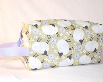 Wooly Sheep Project Bag - Premium Fabric