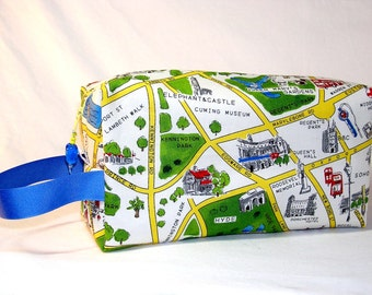 London Map Project Bag