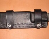 ESEE-4 Horizontal Leather Sheath