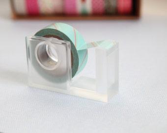 Clear Acrylic Washi Tape Dispenser, Washi Tape Holder, Tape Dispenser