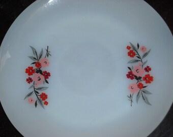 vintage FIre king Primrose pattern 6 inch saucer