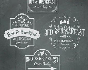 Bed And Breakfast Etsy