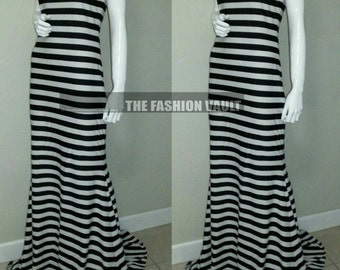 Nylon Lycra mermaid maxi dress Resort Beach XL