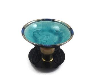 Aromatherapy Oil Diffuser Essential Oils Goddess Isis Handmade Ceramic Raku Pottery