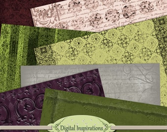 Antique Grunge Scrapbook Paper for Digital Art Mixed Media Collage Art
