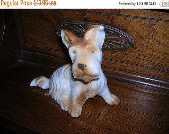 ON SALE Scottie Dog Figurine