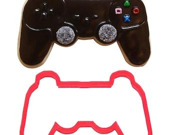Video game controller cookie cutter ,x, video game cookie cutter,