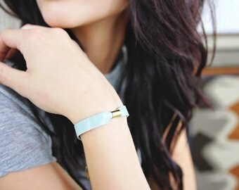 Friendship Bracelet - Best Friend Bracelets - Friendship Jewelry - Friendship Gift- Leather Bracelet - Leather Jewelry -Stackable Bracelets