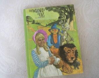 "Vintage Book Children's Book ""The Wizard of Oz"", L. Frank Baum 1969"