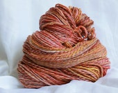 Hand spun super soft merino 3 ply worsted  (4.9 0Z, 140 grams/268 yards)