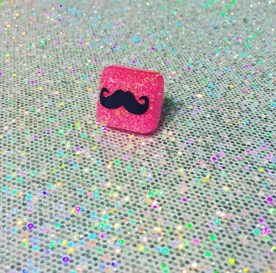 Mustache Ring - SALE