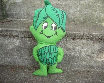 Vintage Little Sprout Plush Doll