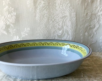 Vintage Arabia Finland Large Bowl Crown Band Serving
