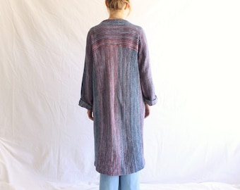 vintage 70s duster sweater coat