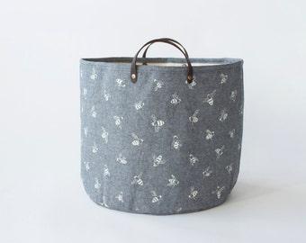 Medium Bucket - Chambray Bees