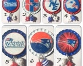 TOP Only**New England Patriots Interchangeable Badge Reel Tops  *PICK one*