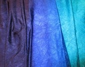 Variegated Hues of Blue Lycra Fabric
