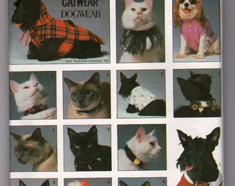 Simplicity 8416 Vintage Sewing Pattern for your Dog or Cat