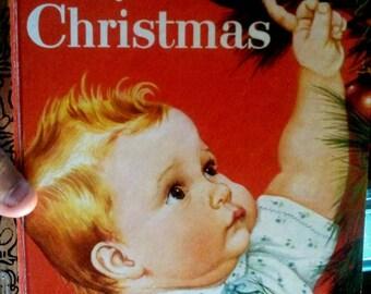 1991 Little Golden Baby's Christmas Book