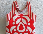 Amelie tote  bag pattern- pattern for a roomy tote bag with front pockets