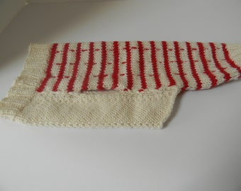 Dog Sweater - Hand Knit Wool Dog Sweater