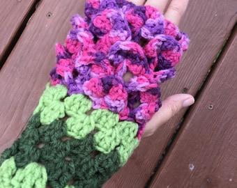 Fingerless Gloves - Dragonscale