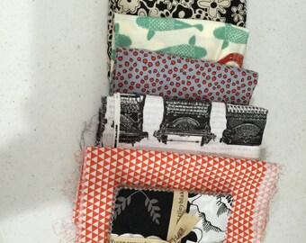 DESTASH Quilting fabrics - 1 lb SCRAP Bag SALE