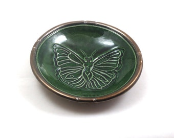 Butterfly Woman OFFERING BOWL Handmade Pottery